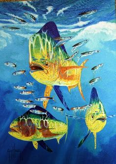 Photo of Painting from Guy Harvey Art Gallery, Grand Cayman Island