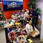 Places to request donations from for fundraisers: JetBlue