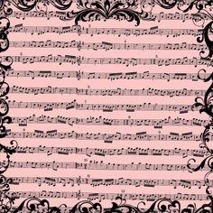 free+digital+scrapbook+paper_pink+music+sheet+background.jpg (1600×1600)