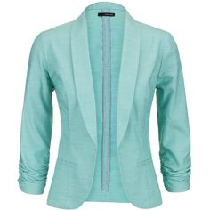 maurices Aqua Open Front Blazer With Faux Pockets and other apparel, accessories and trends. Browse and shop 1 related looks.