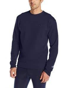 Champion Men's Powerblend Fleece Pullover Sweatshirt Mens Fleece, New Fashion Trends, Black Media, Fashion Wear, Men Sweater, Sweatshirts, Long Sleeve, Hot, Mens Tops