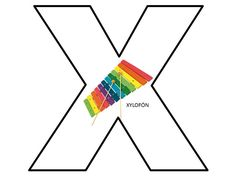 X Letter Of The Week, Puzzle, Lettering, Education, Learning, Puzzles, Studying, Drawing Letters, Teaching