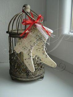 Zima, sneh, ľad, korčule:! Romantická dekorácia ako z rozprávky. Autorka: Apolienka1. Armama.sk