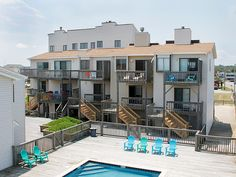 Breakers Get-A Wave is a fantasic getaway for you and your family!Nice oceanfront, two-story condominium overlooking the community saltwater pool with great ocean views. Owners of Breakers Get-A-Wave take great care in making sure your vacation home is regularly updated and maintained.  Tastefully decorated and comfortably appointed, Breaker-Get-A-Wave will provide you and your family a beautiful home away from home, where special memories are made. Breakers Get-A-Wave is conveniently…