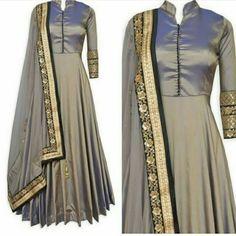 Dm me for buy Paper silk anarkali Fabri Abaya Fashion, Indian Fashion, Fashion Dresses, Anarkali Dress, Anarkali Suits, Punjabi Suits, Lehenga, Saree, Indian Dresses