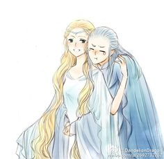 Galadriel and Celeborn --Галадриэль и Келеборн
