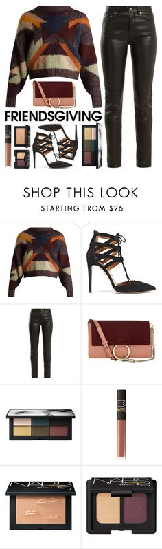 """No.419"" by good-as-gold ❤ liked on Polyvore featuring Isabel Marant, Aquazzura, Yves Saint Laurent and NARS Cosmetics"