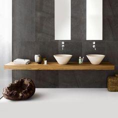 Bathroom Sink Bowls With Vanity Bathroom Sink Bowls With Vanity. Designing a luxury bathroom will never be complete when you do not add bathroom sink bowls Bathroom Sink Bowls, Bathroom Sink Design, Modern Bathroom Tile, Natural Bathroom, Wooden Bathroom, Bathroom Styling, Bathroom Ideas, Bathroom Vanities, Stone Bathroom