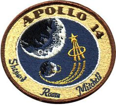Apollo 14 Mission Patch Official NASA Edition | eBay