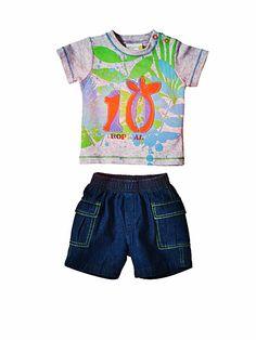 Zestaw dla modnego chłopca - dżinsy i t-shirt z nadrukiem 87 zł    #limango #shopping #kids