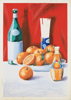 Many artists paint 'still nature'. But if you have a sparkling Aranciata everything comes to life!
