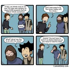 True story: fixing a self-DDoS | CommitStrip - Blog relating the daily life of web agencies developers