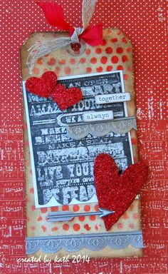 "Kath's Blog......diary of the everyday life of a crafter: ""12 Tags of 2014""...February..."