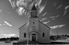 Mark Goebel: Sacred Heart Church at Dilia, New Mexico