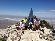 Saturday, August 25, 2012. Here we are on top of the tallest peak in Texas, the Guadalupe Peak. We did 16.8 miles, and a required 5,157 ascent, between two mountains, training for the Project Athena Foundation fundraiser we are doing in October. This has been an awesome challenge and extreme fun! Praying for some Angels on my right side to get thru the rest of this! I love you all. Special thanks to Michelle & Bennet for the sandwich. LOL!  Eagle Eye Report:  40 Hawks, 2 Caracara, 11 Night…