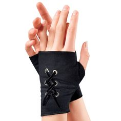 Lace Up Fingerless Gloves - New Age & Spiritual Gifts at Pyramid Collection Gothic Outfits, Edgy Outfits, Cosplay Outfits, Mode Outfits, Fashion Outfits, Mode Swag, Mode Kpop, Pyramid Collection, Gloves Fashion