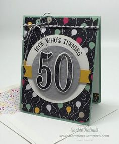 Featured Stamp Set: Number of Years | Klompen Stampers (Stampin' Up! Demonstrator Jackie Bolhuis) | Bloglovin'