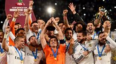Real Madrid won the #FIFA Club #WorldCup #Morocco 2014 after defeating San Lorenzo 2-0 in the final