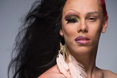 Ivy Ferriya: Leland Bobbé's Half-Drag Photos