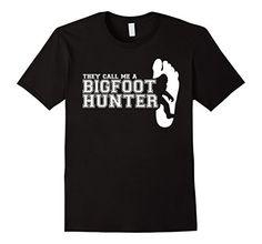 Bigfoot T Shirt-They Call Me A Bigfoot Hunter Bigfoot Gift  - Male Small - Black Shoppzee Bigfoot Tee http://www.amazon.com/dp/B01B3USJ0S/ref=cm_sw_r_pi_dp_q1pSwb07GYVT5