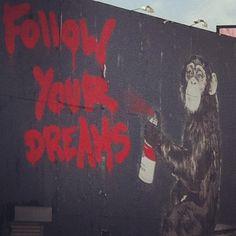 LA street art - @mirandacosgrove- #webstagram