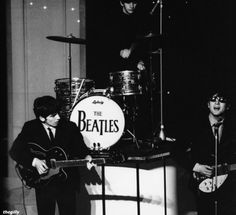 The Beatles rehearsing for Sunday Night at the London Palladium, 12 January Photo by Terence Spencer. A Hard Days Night, Sunday Night, The Beatles Story, Beatles Photos, John Lennon Beatles, Twist And Shout, American Tours, The Fab Four, Ringo Starr