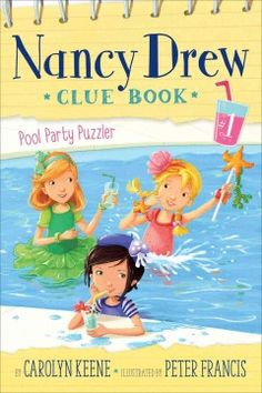 """J SERIES NANCY DREW. During classmate Dierdre's """"sweet half-sixteen"""" birthday party, Nancy Drew and her Clue Crew friends investigate who threw a snake into the pool--and why."""