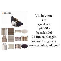 DIY Konkurranse Zalando Gavekort
