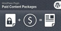 Paid Content Packages