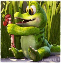 Animated Emoticons, Animated Gif, Cute Love Cartoons, Cute Cartoon, Gif Bonito, Tinkerbell And Friends, Baby Memes, Cartoon Gifs, Beautiful Gif