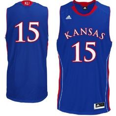 Kansas Jayhawks Royal Replica College Basketball Jersey by Adidas - Product Description:Designed by Adidas to replicate the Jayhawks Gameday Basketball Jersey this Kansas Replica Basketball Jersey comes in team color Royal and has a loose Kansas Basketball, Basketball Uniforms, Basketball Jersey, Kansas Jayhawks, Adidas, Sports, Product Description, Rock, Color