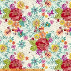 MARIPOSA Butterfly Another Point of View Windham by GlamFabrics
