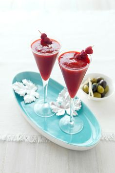 Frozen Raspberry Daiquiris   #CreativeGourmet #recipe