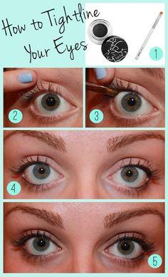 Make Eyes Pop: How to Tightline Your Eyes | GirlsGuideTo