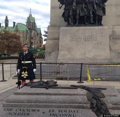 "Inquisitr News: ""Heartbreaking photo shows fallen soldier Nathan Cirillo moments before shooting  - HuffPostUKPics"" : twitter - 23 Oct 2014 #Canada"