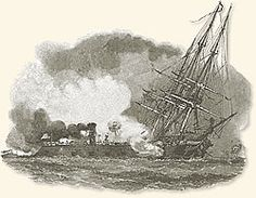 The Battle of the Ironclads, 1862~The Monitor and the Marrimac