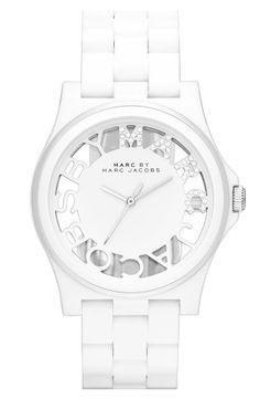 "Nordstrom  ""MARC BY MARC JACOBS 'Henry Skeleton' Bracelet Watch"