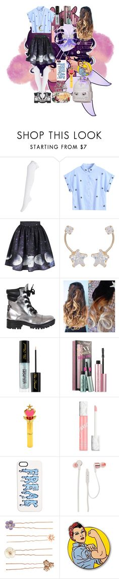 """""""Star Beam"""" by nicoledesigner on Polyvore featuring Candela, Kendall + Kylie, Sephora Collection, jane, Markus Lupfer, JBL, Accessorize and Alexander McQueen"""