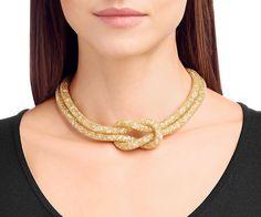 Stardust Knot Necklace - Jewelry - Swarovski Online Shop