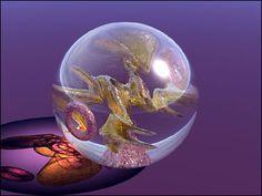 Heavenly Spheres Paperweights