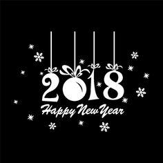 Afbeeldingsresultaat voor gelukkig nieuwjaar 2018 Welcome New Year, Happy New Year, Christmas Cards, Words, Europe, Winter, Sticker, Christmas Greetings Cards, Winter Time