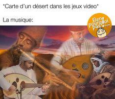 Tous les jeux vidéos, la musique quand tu entres dans un désert | Blag…