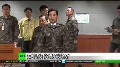Seúl denuncia que Pionyang ha lanzado un misil de largo alcance