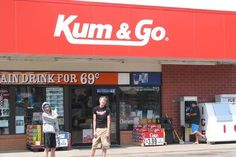 Que nome...Kum & Go - Businesses With Hilarious Names | Teen Dayz