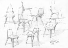 Tram Chair by Thomas Feichtner for TON