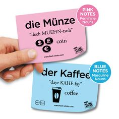 FlashSticks will help you with learning German words.