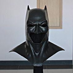 Halloween Costume, Movie Prop Batman Mask, Batman Cowl Costume Suit, Batman vs Superman Mask Dawn of Superman Halloween Costume, Custom Halloween Costumes, Batman Costume For Kids, Batman Costumes, Batman Cosplay, Halloween Masks, Batman Vs Superman, Superman Mask, Batman Cowl