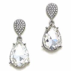 Crystal Drop Earring