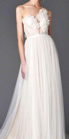 trendy stylishfloral wedding dresses 4