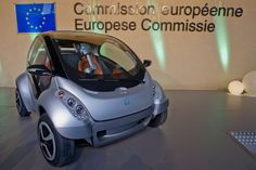 The first prototype of the HIRIKO electric car
